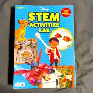 Disney stem activities lab project book